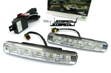 Дневные ходовые огни LED HIGH POWER PREMIUM доставка товаров из Польши и Allegro на русском