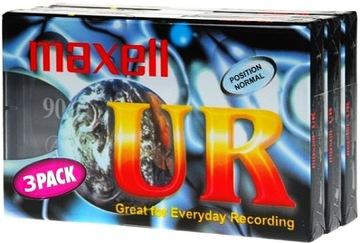 Maxell Новый Картридж AUDIO Earth UR 90 мин-1шт-Москва доставка товаров из Польши и Allegro на русском