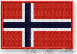 ПОЛОСА термо - ФЛАГ НОРВЕГИЯ, Norway -вышивка 100% доставка товаров из Польши и Allegro на русском