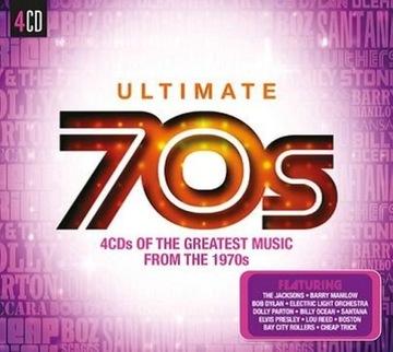 Ultimate 70s 4CD Сантана музыки smokie Boney M. доставка товаров из Польши и Allegro на русском