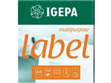 Этикетки самоклеящиеся CD DVD наклейки - 160 Igepa доставка товаров из Польши и Allegro на русском