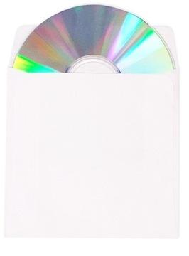 Конверты для CD/DVD, без окна, 100 шт, хорошее качество доставка товаров из Польши и Allegro на русском