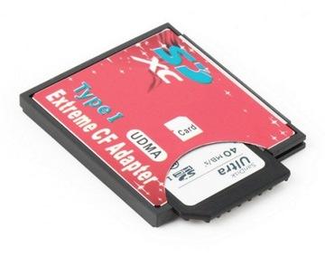 Адаптер карты памяти SD SDHC SDXC CF тип 1 128GB доставка товаров из Польши и Allegro на русском