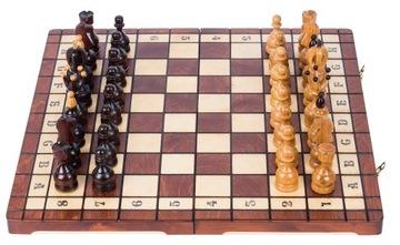 SQUARE - Шахматы деревянные ГУБЕРНАТОР - 50 x 50 см доставка товаров из Польши и Allegro на русском