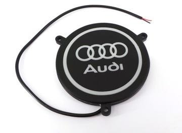 Audi logo LED podświetlane, wodoodporne 12V super доставка товаров из Польши и Allegro на русском