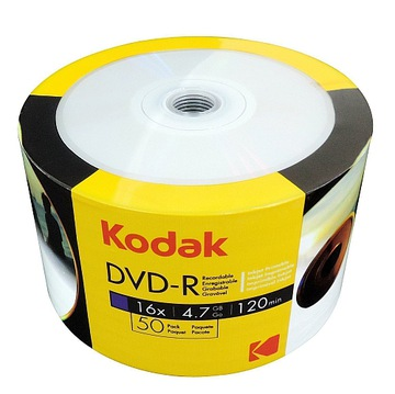 Пластины KODAK DVD-R с покрытием для печати фото printable 50 шт доставка товаров из Польши и Allegro на русском