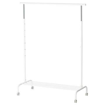 IKEA-РИГГА Вешалка для Одежды Стойка на Колесиках доставка товаров из Польши и Allegro на русском