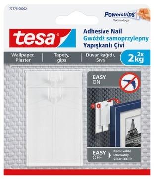 гвоздь самоклеющийся TESA обои штукатурка 2 x 2кг доставка товаров из Польши и Allegro на русском