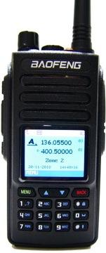 Baofeng DM-1702, Радиостанция Цифровая DMR + GPS доставка товаров из Польши и Allegro на русском