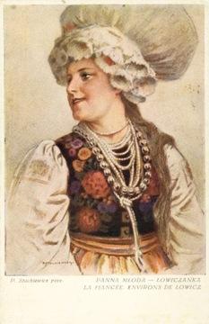 (STACHIEWICZ - НЕВЕСТА ŁOWICZANKA. КРАКОВ 193-?) доставка товаров из Польши и Allegro на русском