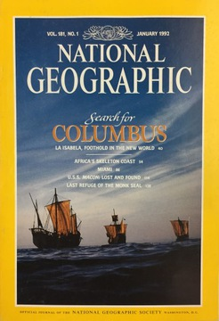National Geographic vol 181 no 1 Января 1992 ANG доставка товаров из Польши и Allegro на русском