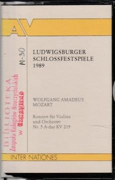 LUDWIGSBURGER SCHLOSSFESTSPIELE 1989 - Mozart доставка товаров из Польши и Allegro на русском