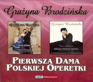 Brodzińska - Первая Леди Польской Оперетты 2CD доставка товаров из Польши и Allegro на русском