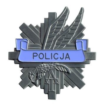 AT Полицейская БЛЯХА ЖЕСТЬ ПОЛИЦИИ ЗВЕЗДА с чехол доставка товаров из Польши и Allegro на русском