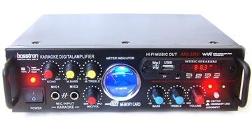 AMPLIFIER УСИЛИТЕЛЬ USB SD MP3 FM 2x 200W КАРАОКЕ доставка товаров из Польши и Allegro на русском