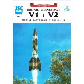 ОАО-603 Бомба летающая V1, ракета V2 1:24 доставка товаров из Польши и Allegro на русском