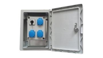 Vložky Elektrická skrinka IP65 XR316R