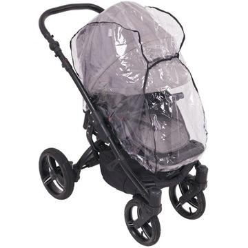 Dažďová fólia 2 v 1 na vozík vozíka