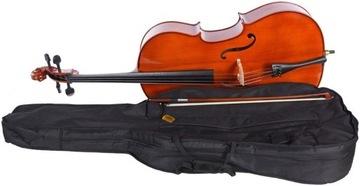 Cello 4/4 M-Tunes No.100 Drevené - Študenti