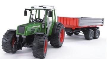 Traktor Bruder 02104 Fendt 209 S s prívesom