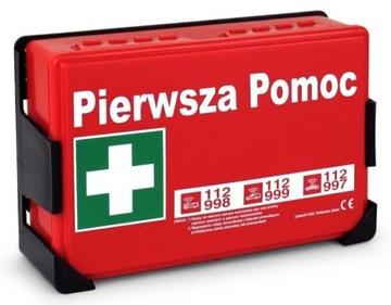 Súprava prvej pomoci pre autosalón BHP DIN 13164