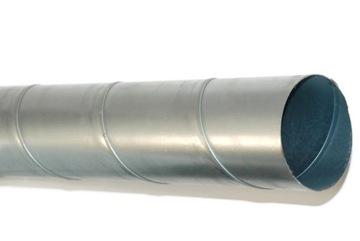 SPIRO RÚRA 125 mm RIGIDNÝ VETRACÍ kanál 3 rm
