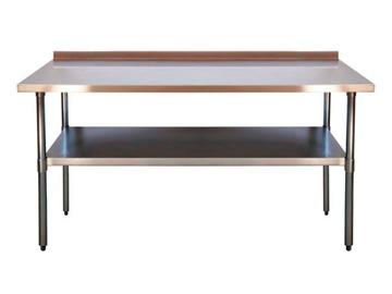 Pracovný stôl. Tabuľka s kyselinou. 1800x700mm 1xrant