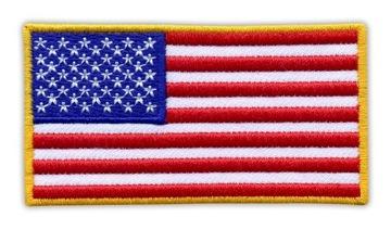 Patch - USA - USA vlajka 2