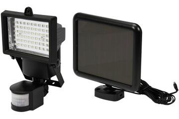 YATO Solárne LED bodové svetlo 4W snímač pohybu Lampa