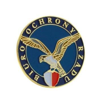 Bor pins vládny bezpečnostný odznak, odznak