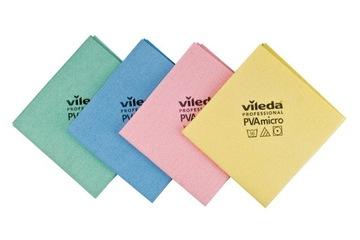 Vileda PVA Micro Professional Super Rubble 4PCS