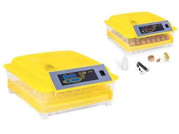 Automatický inkubátor pre vajcia s rotáciou 48 vajec