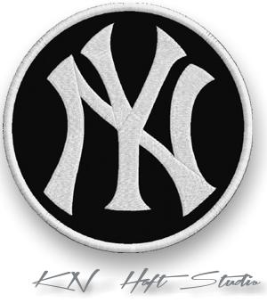 Naszywka Termo Naszywki Ny New York 70 Mm Haft 7297825048 Allegro Pl