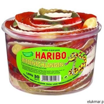 Super Gummies Haribo Węże 30 шт.