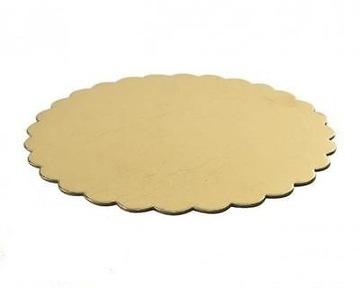 Основа для торта круглая 30 см MEGA RIGID gold