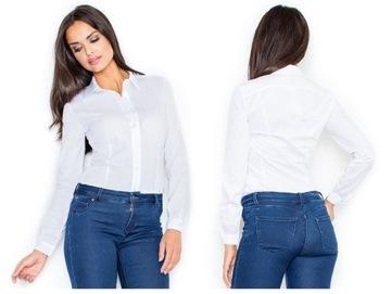 białe koszule damskie allegro