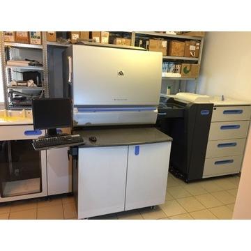 maszyna drukująca HP INDIGO 5500 - 4 kasety i RIP