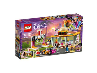 LEGO Friends Racing reštaurácia 41349