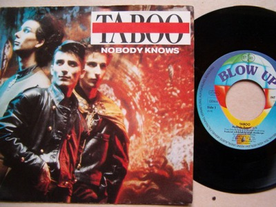 TABOO - NOBODY KNOWS - WHAT'S THE USE