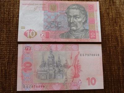 097.UKRAINA 10 HRYWIEN UNC