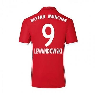 a58b841de Adidas Bayern Monachium LEWANDOWSKI Koszulka 146cm - 7233106042 ...
