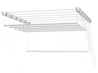 SUSZARKA SUFITOWA ŁAZIENKOWA PRANIE 6 PRETÓW 140cm
