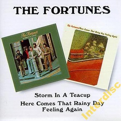 CD THE FORTUNES - Storm In A Teacup...(2LPon1CD)
