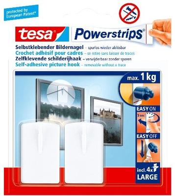 крючки вешалки-липучки TESA для изображения x2