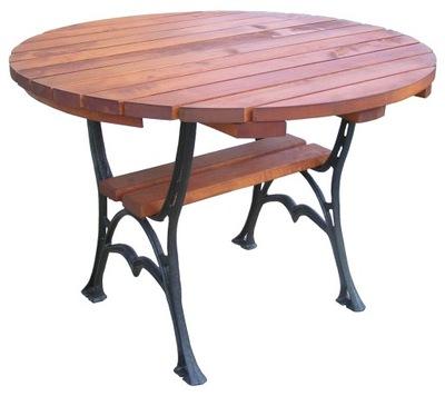 стол садовый СТОЛ круглый НОГИ чугунные