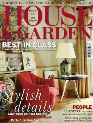 HOUSE & GARDEN 9/2012