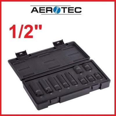 """Sada nástrojov - IMPACT LINERY 1/2 """"sada AEROTEC 10 el."""