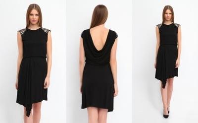 6969d221f5 Sukienka ASYMETRYCZNA TOP XS 34 - 7445307396 - oficjalne archiwum ...