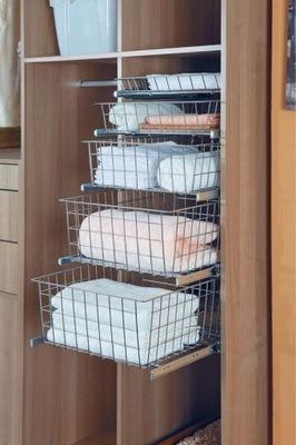 Kosz szuflada do garderoby 70  H-20  WIRELI