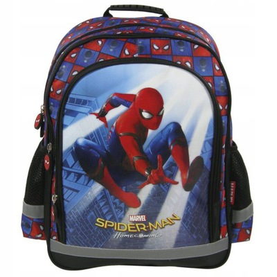 6ad967f4dfff5 Plecak SPIDER-MAN - 7603519701 - oficjalne archiwum allegro